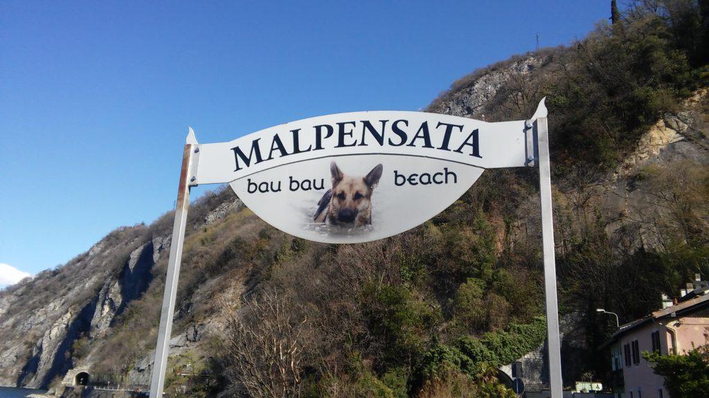 Perledo spiaggia cani